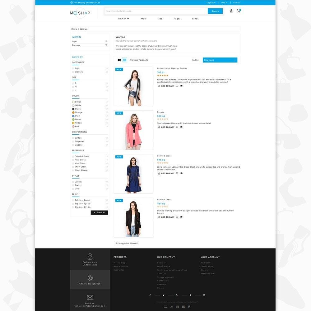 theme - Fashion & Shoes - MOShop -  The Fashion Store - 4