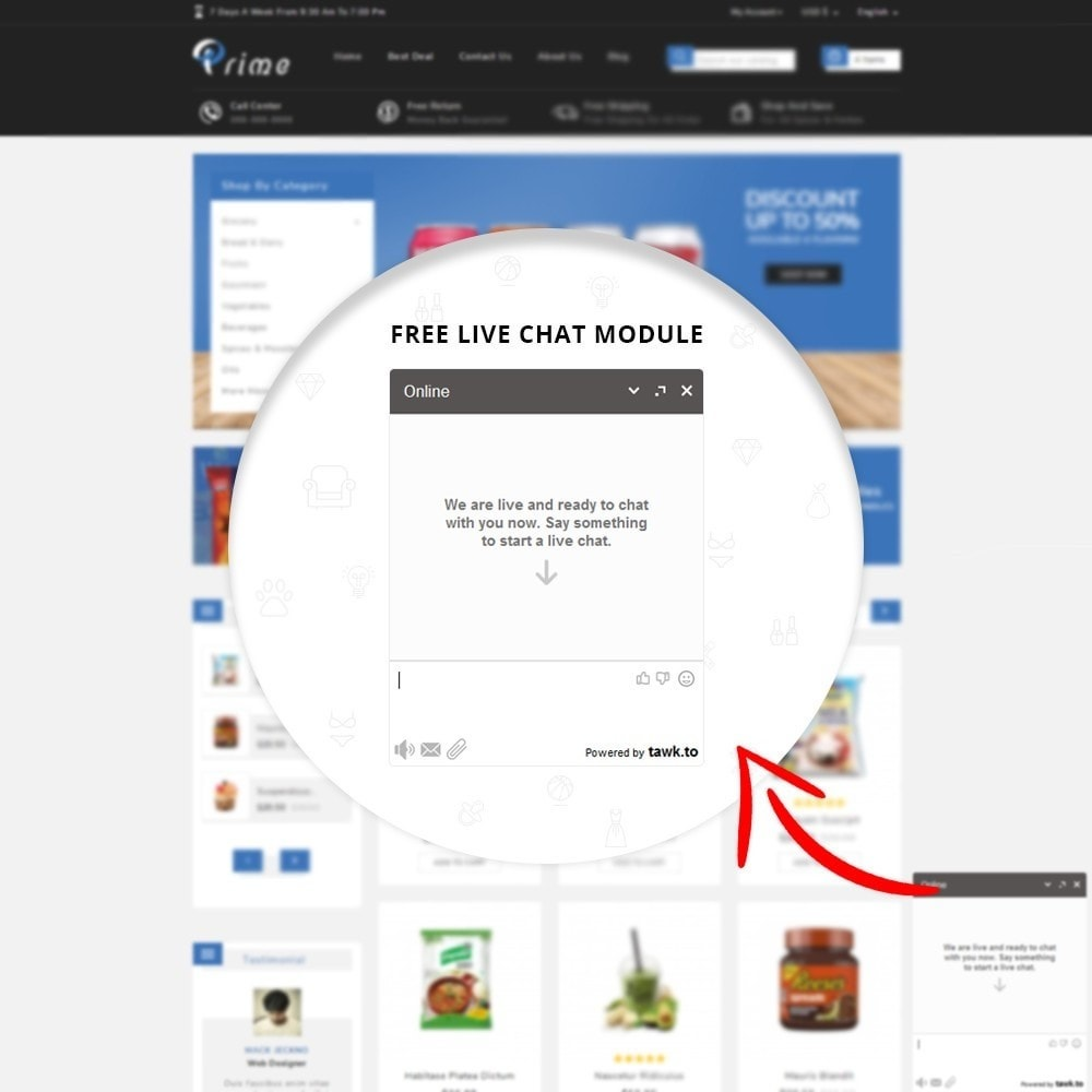 theme - Lebensmittel & Restaurants - Prime Grocery Store - 6