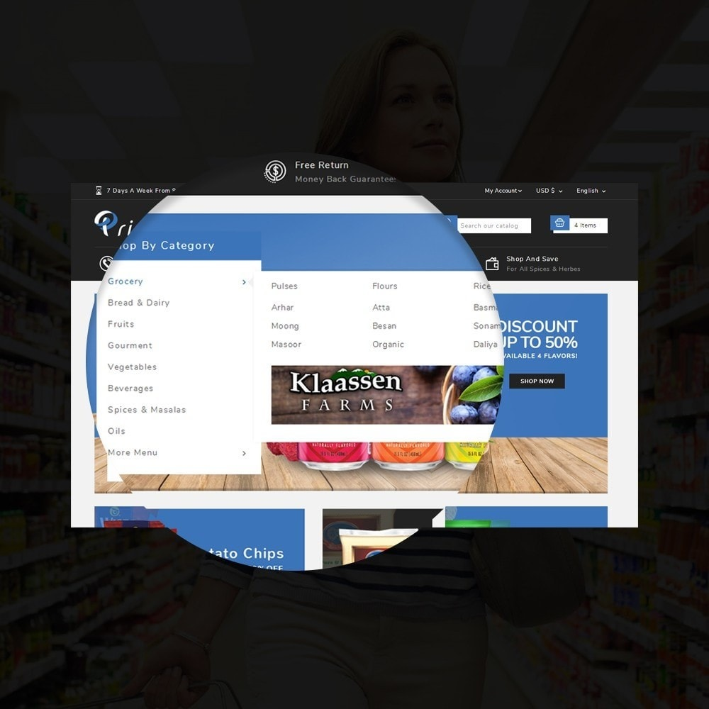 theme - Lebensmittel & Restaurants - Prime Grocery Store - 9