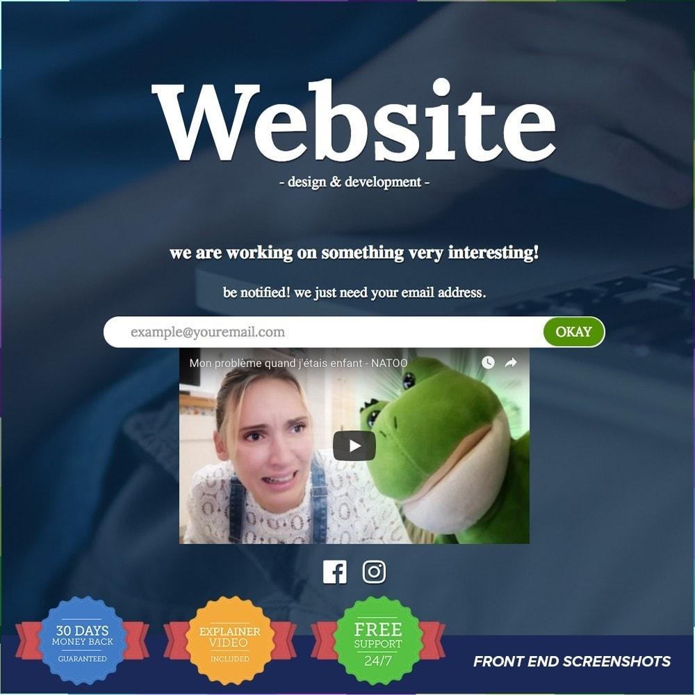 module - Personalizacja strony - Custom Maintenance Page PRO - 6