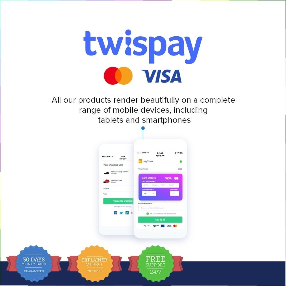 module - Creditcardbetaling of Walletbetaling - Credit Card Payments by Twispay - 5