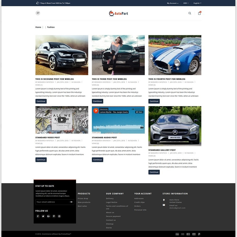theme - Авто и Мото - Auto Store - 6
