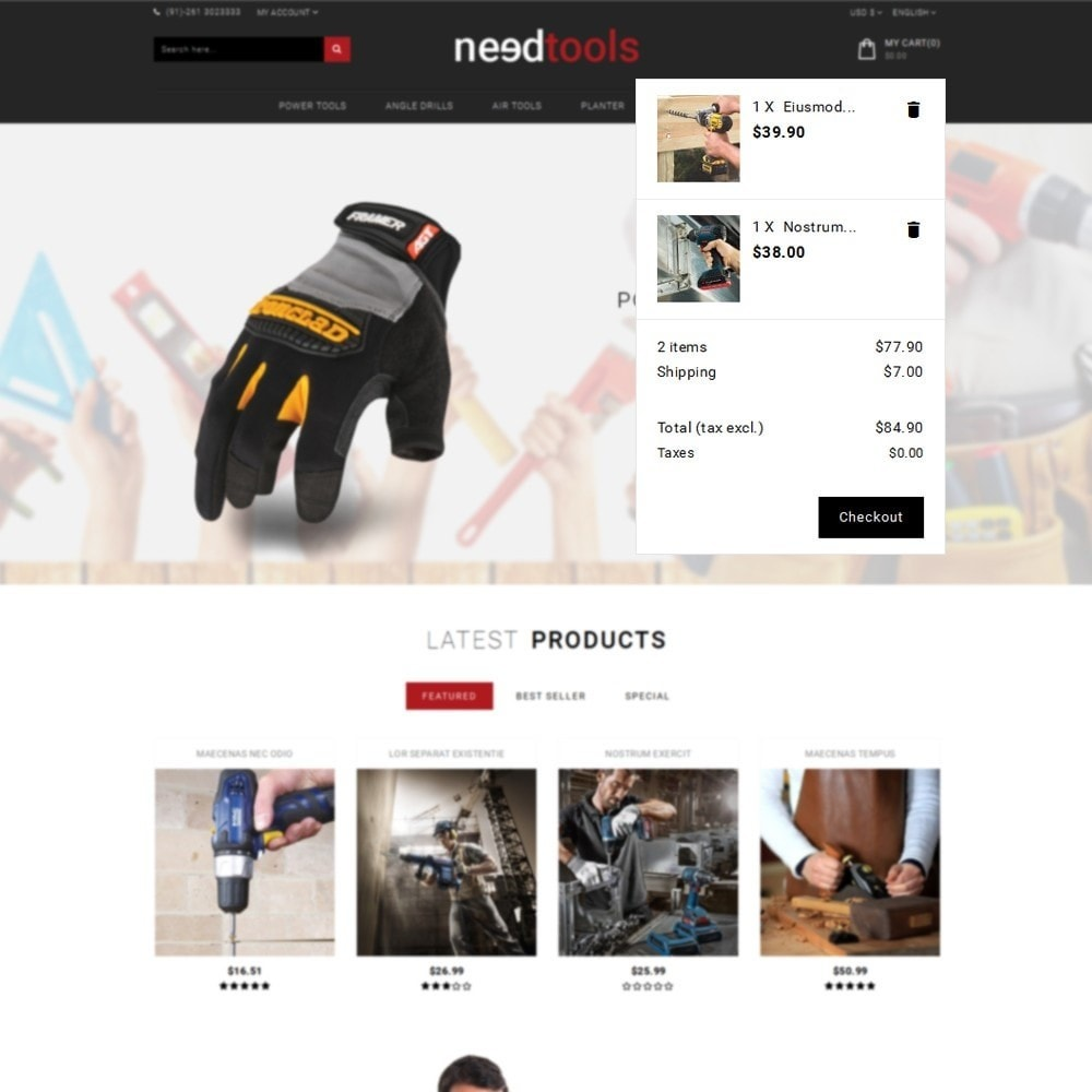 theme - Automotive & Cars - NeedTools Store - 8