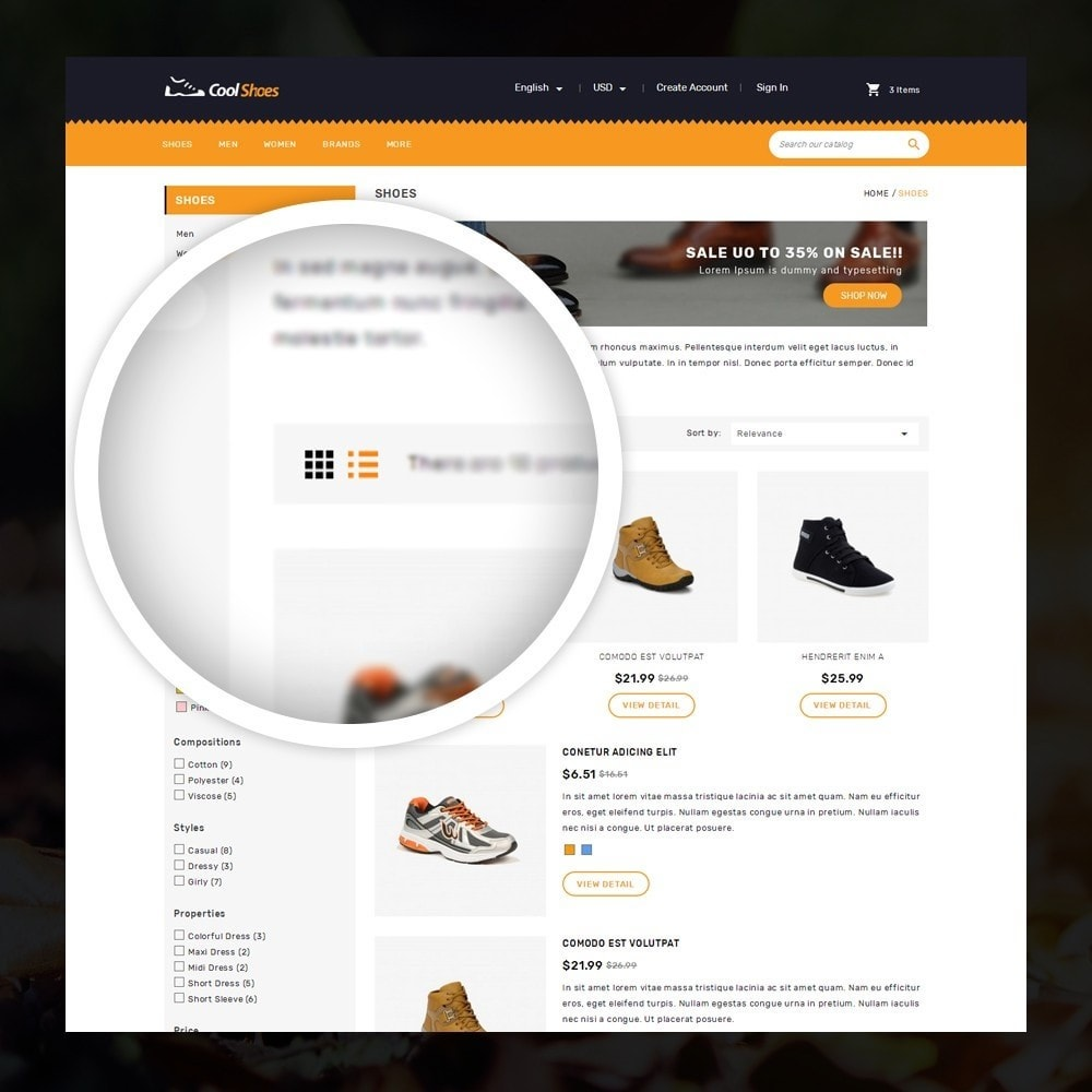 theme - Moda y Calzado - Coolshoes - Shoes store - 3