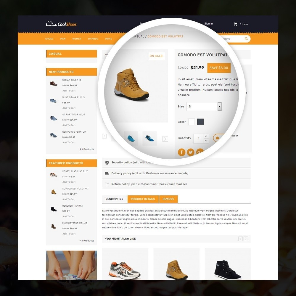 theme - Moda y Calzado - Coolshoes - Shoes store - 4
