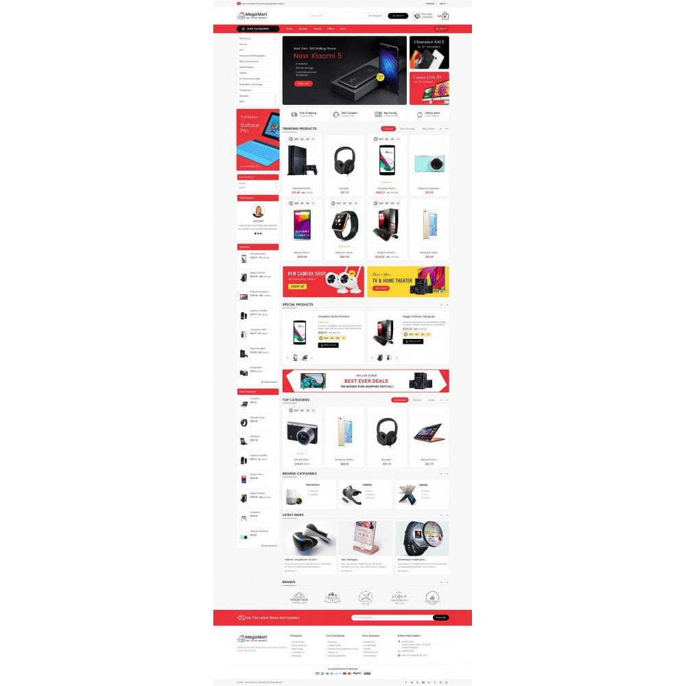theme - Электроника и компьютеры - Mega Mart Electronics - 2