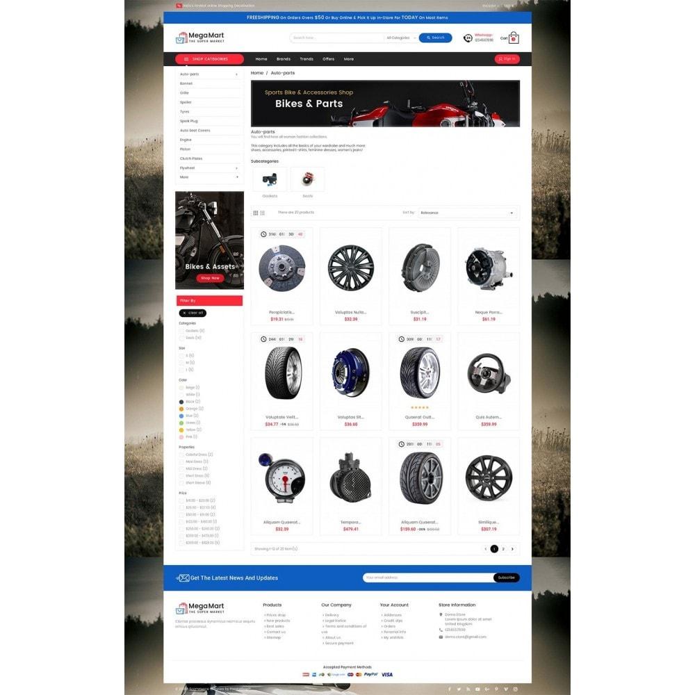 theme - Automotive & Cars - Mega Mart Auto Parts - 3