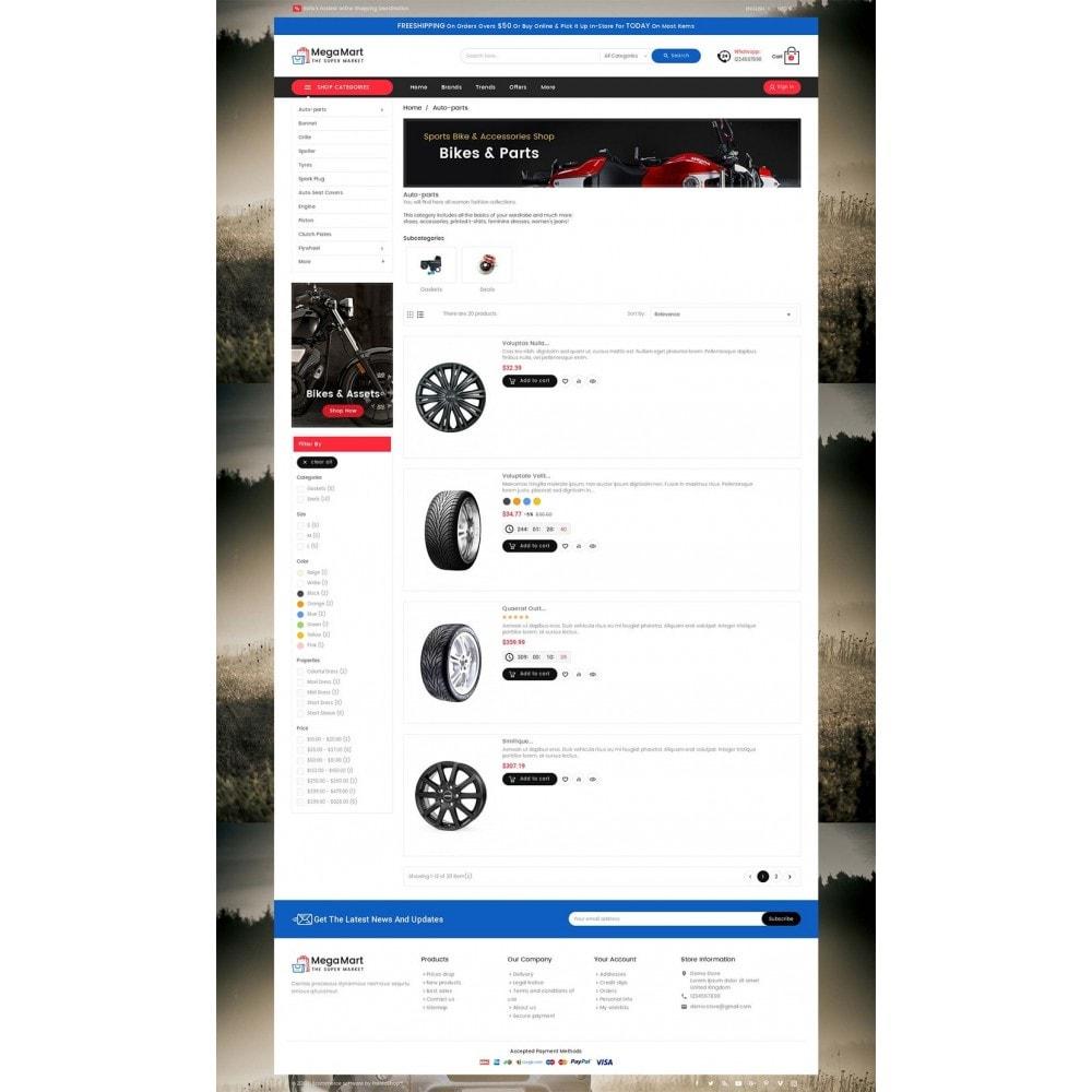 theme - Automotive & Cars - Mega Mart Auto Parts - 4