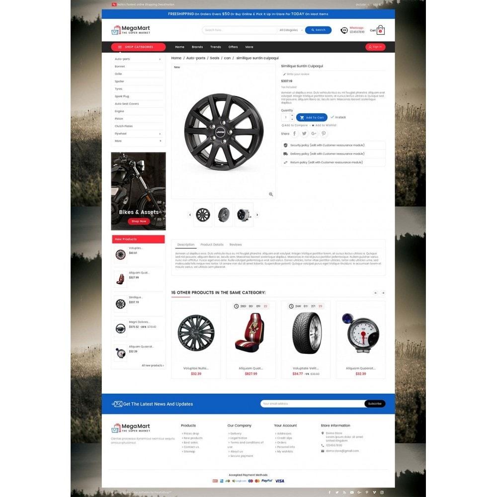 theme - Automotive & Cars - Mega Mart Auto Parts - 5