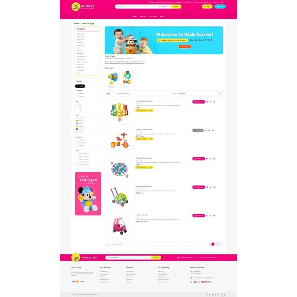 theme - Дети и Игрушки - Mega Shoppe Kid Toys - 4