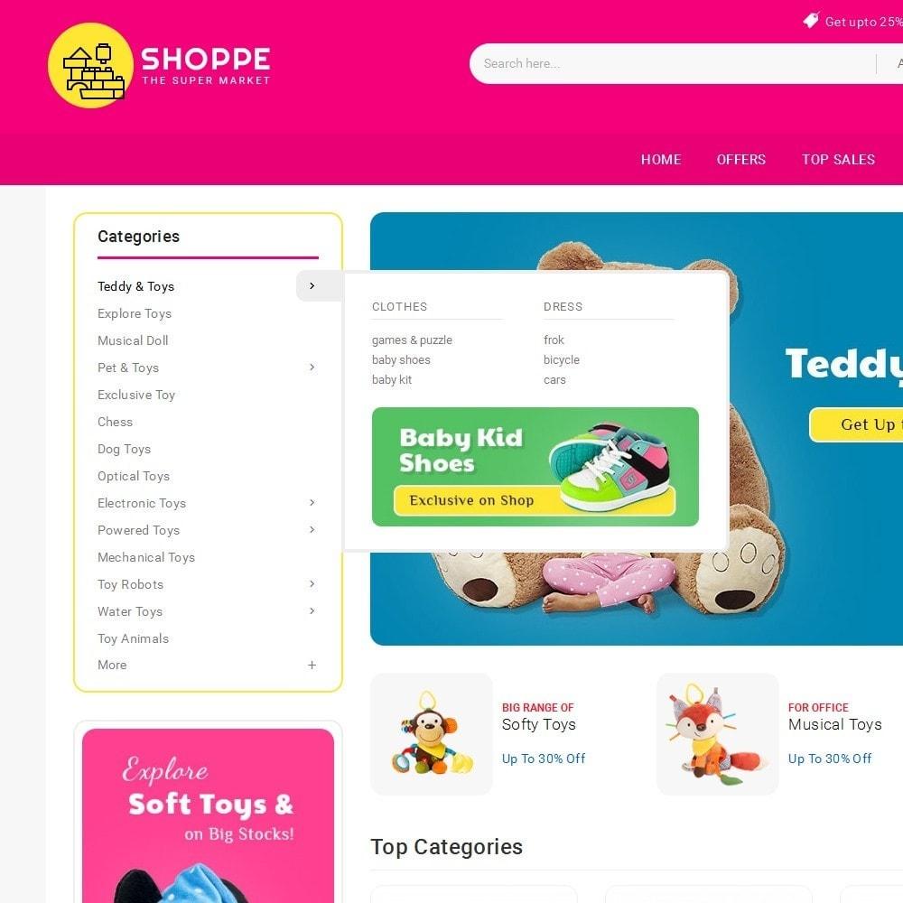theme - Дети и Игрушки - Mega Shoppe Kid Toys - 9