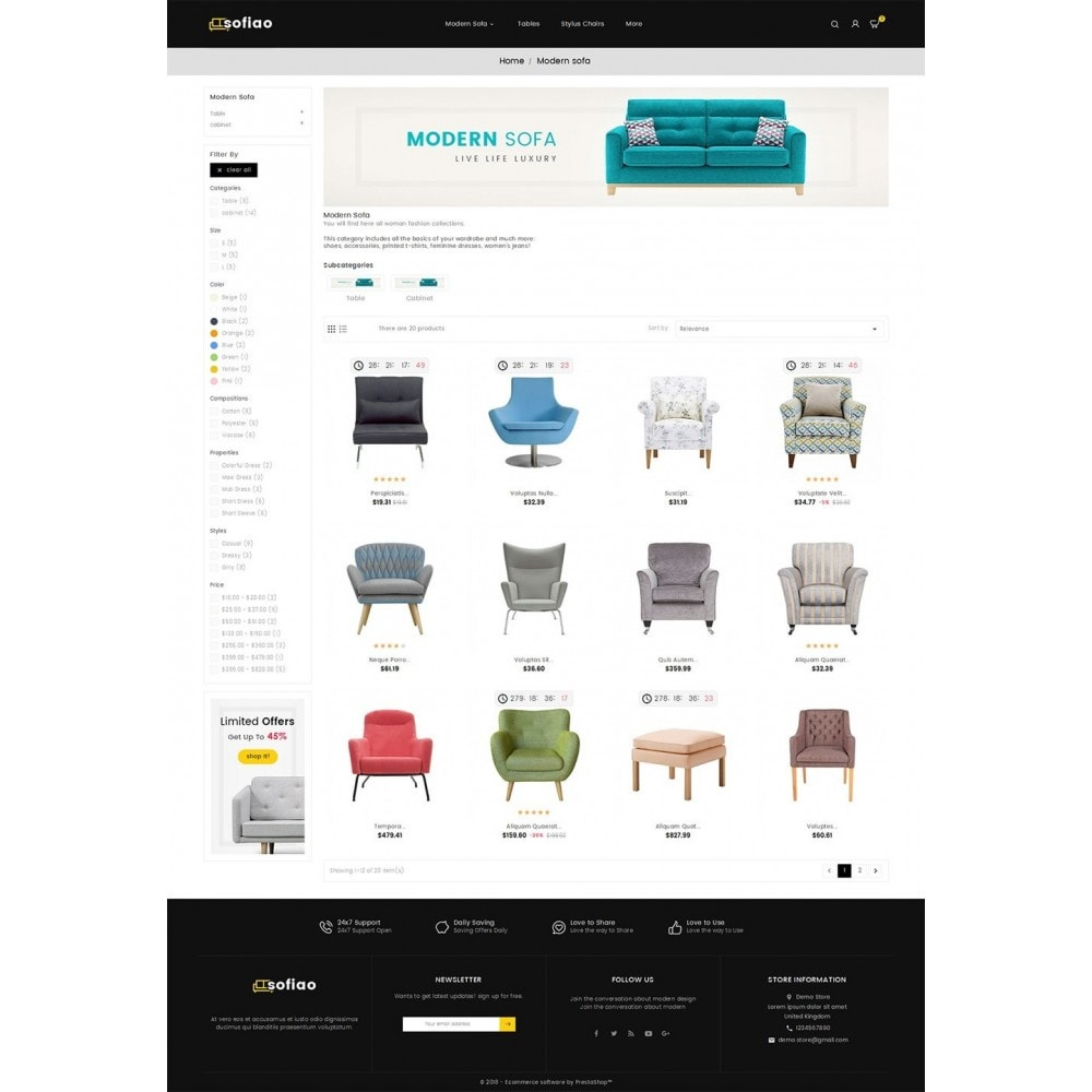 theme - Huis & Buitenleven - sofiao modern sofa chairs - 3