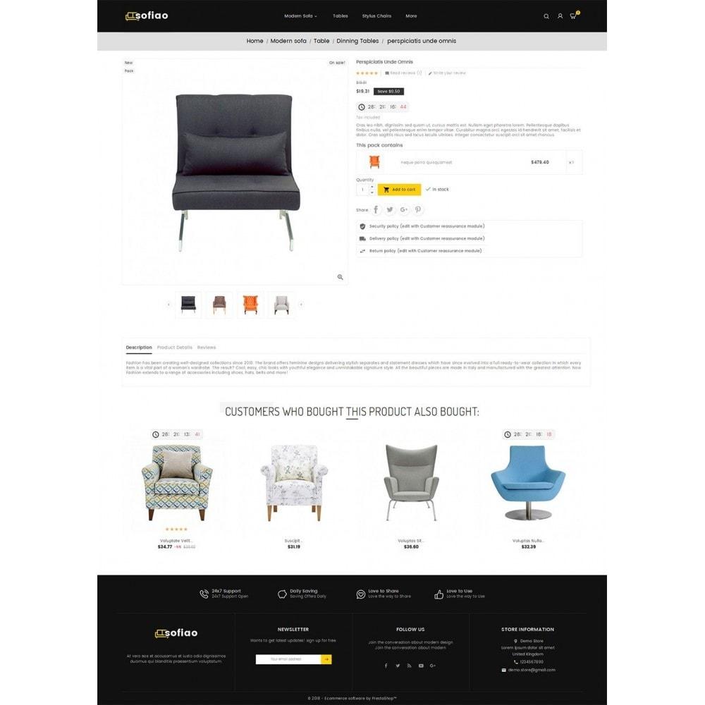 theme - Дом и сад - sofiao modern sofa chairs - 5