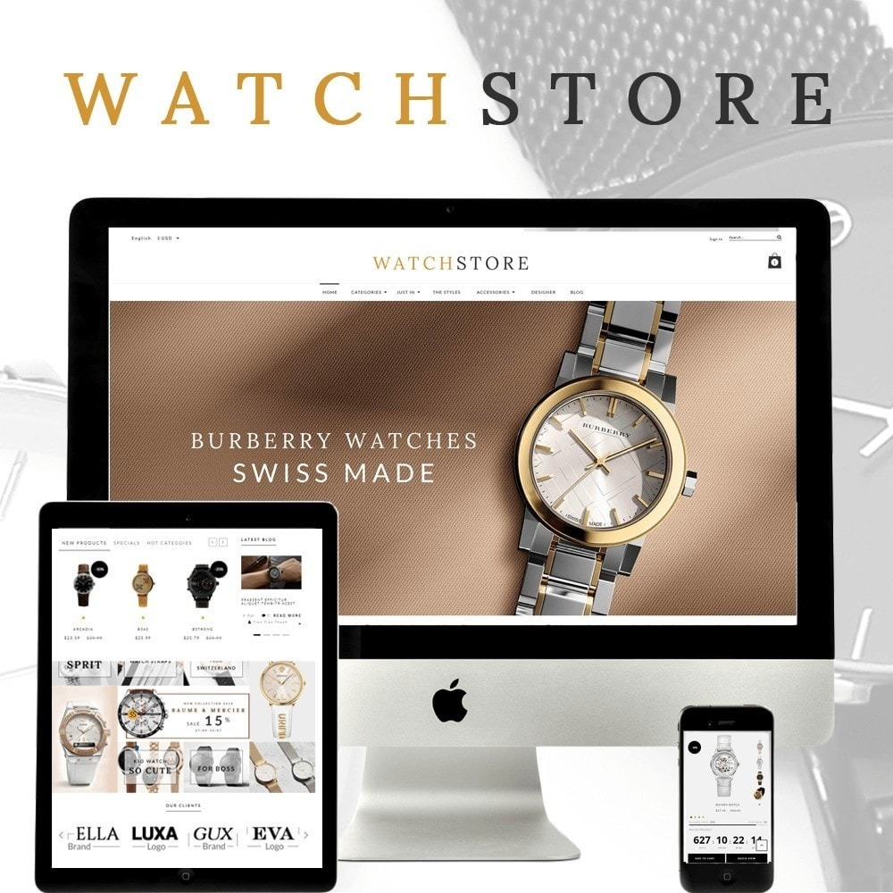 theme - Sieraden & Accessoires - Watch And Accessories Store - 1