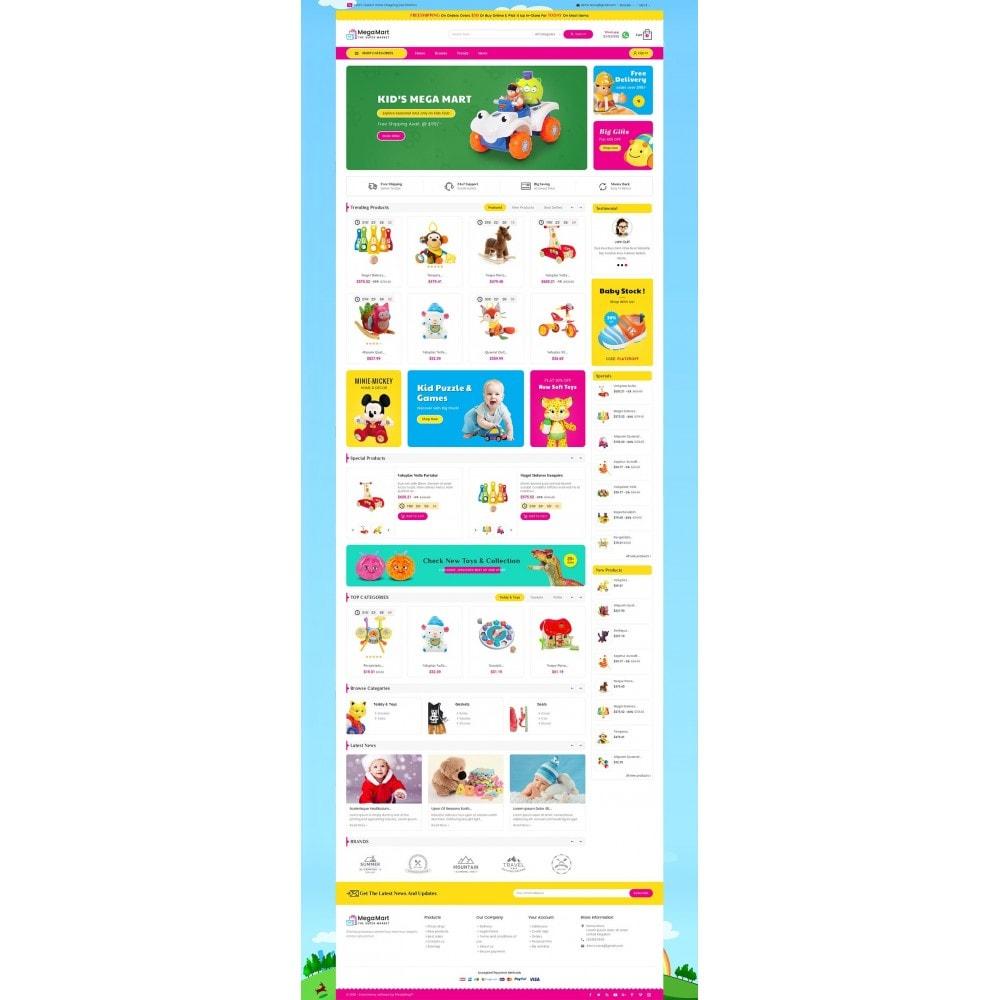 theme - Дети и Игрушки - Mega Mart Kids Toys - 2