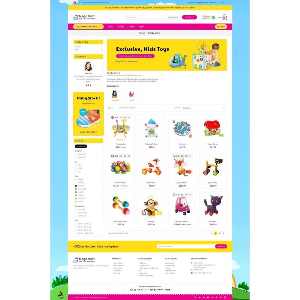 theme - Дети и Игрушки - Mega Mart Kids Toys - 3