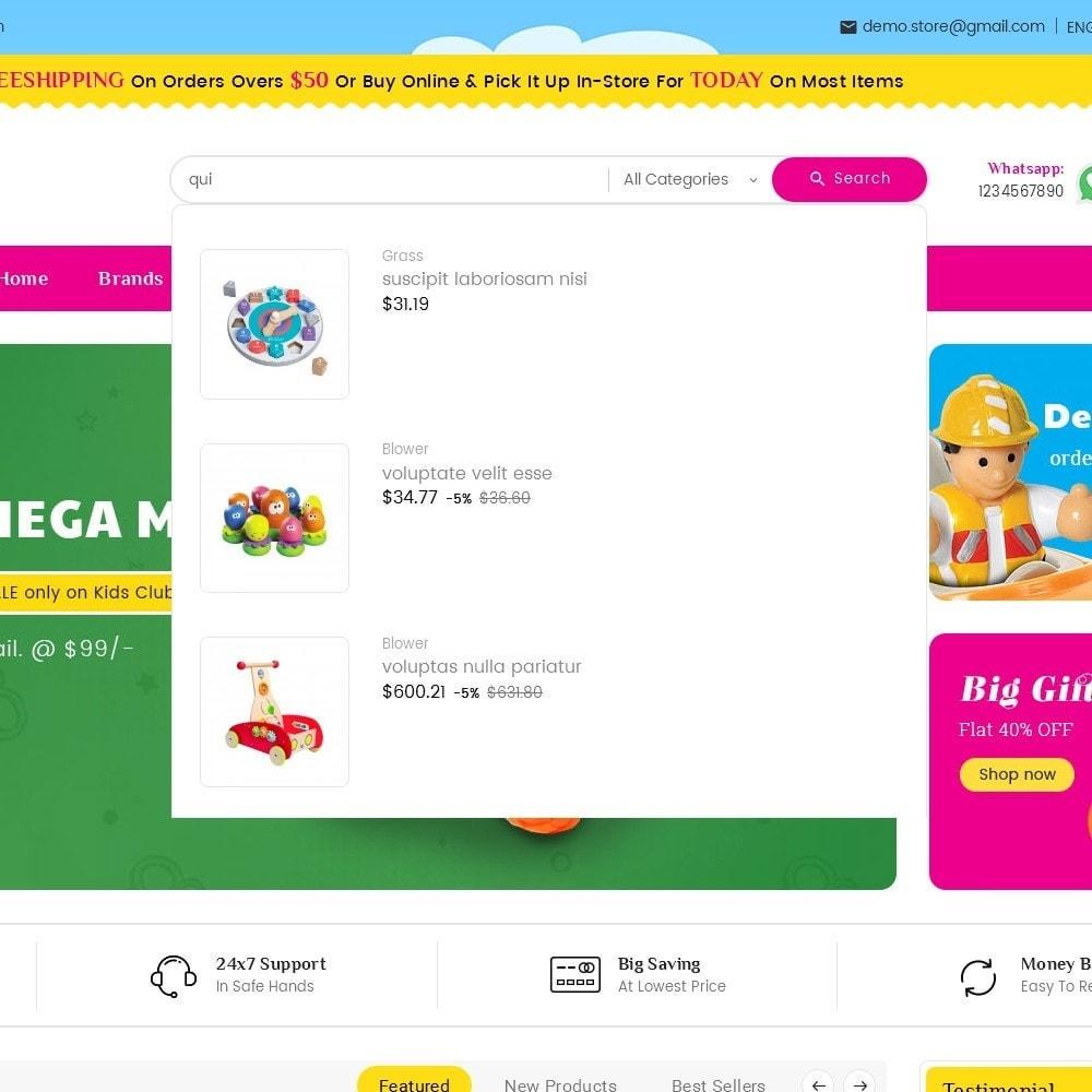 theme - Zabawki & Artykuły dziecięce - Mega Mart Kids Toys - 10