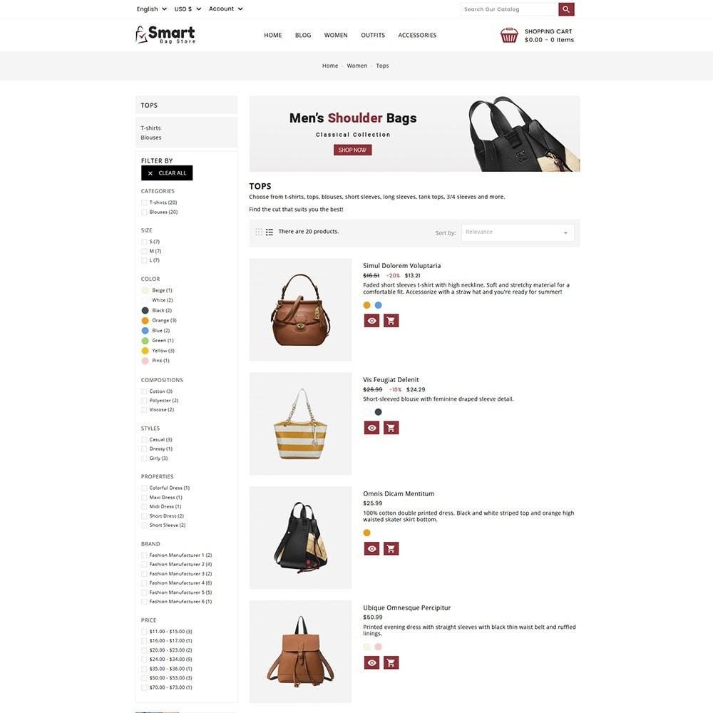 theme - Moda & Obuwie - Bag Store - 5