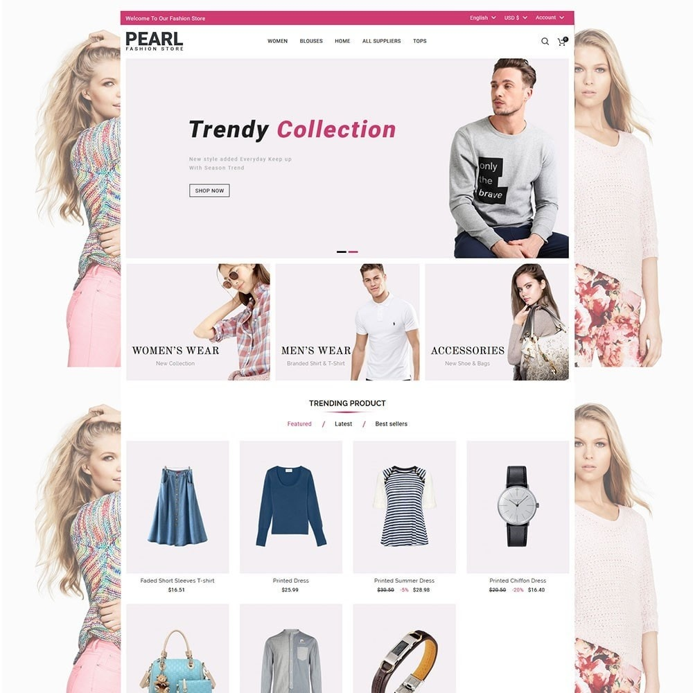 theme - Mode & Schoenen - Pearl Fashion - 2