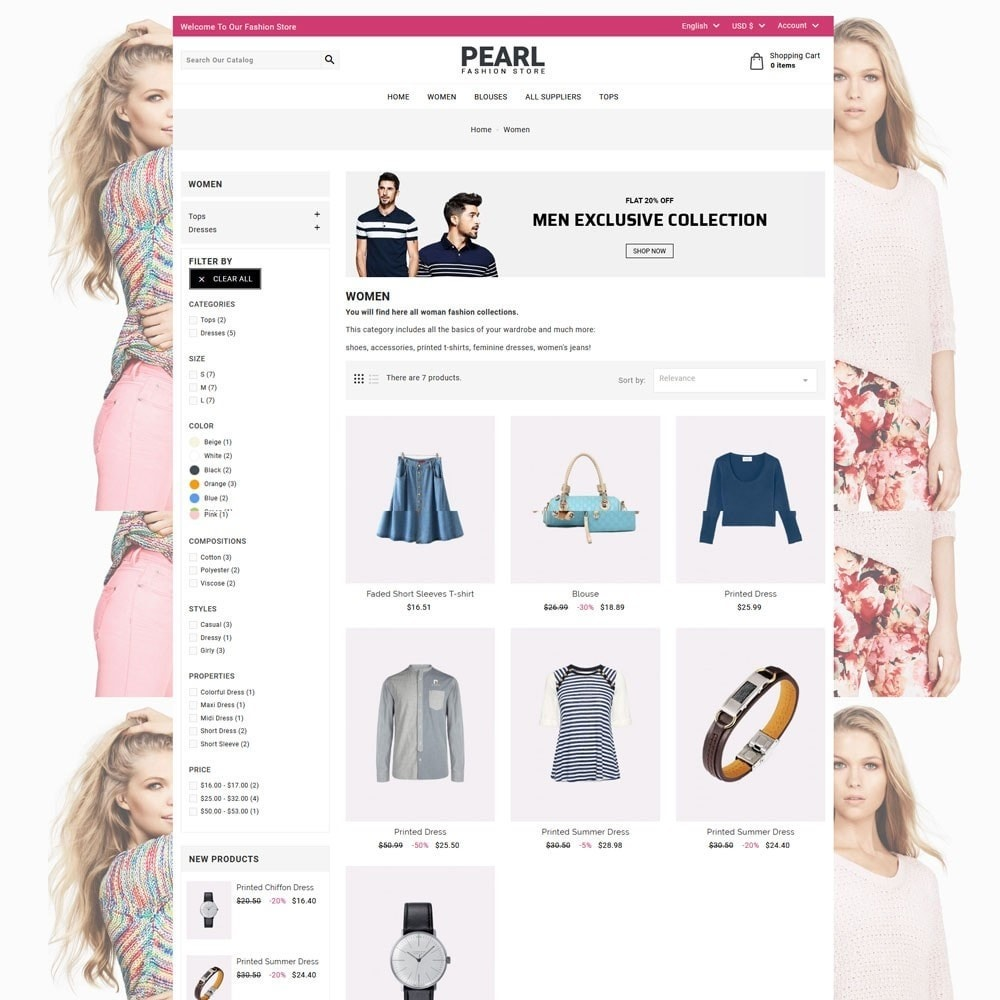 theme - Mode & Schoenen - Pearl Fashion - 4