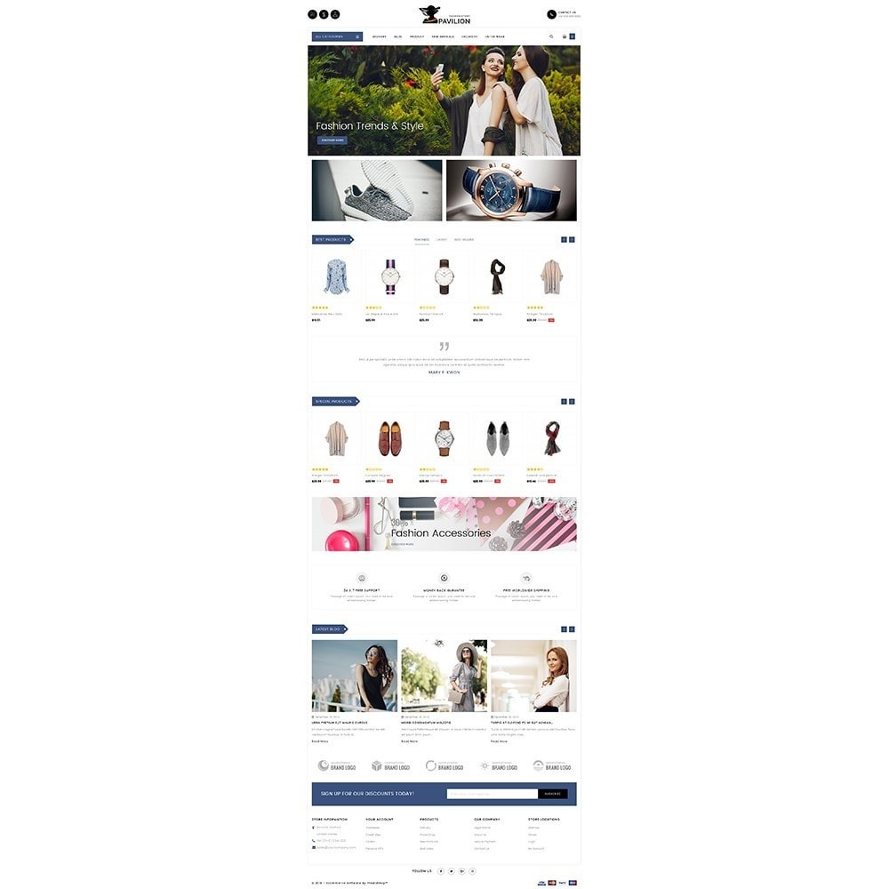 theme - Мода и обувь - Pavilion Fashion Store - 2