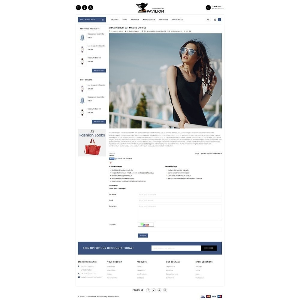 theme - Мода и обувь - Pavilion Fashion Store - 6