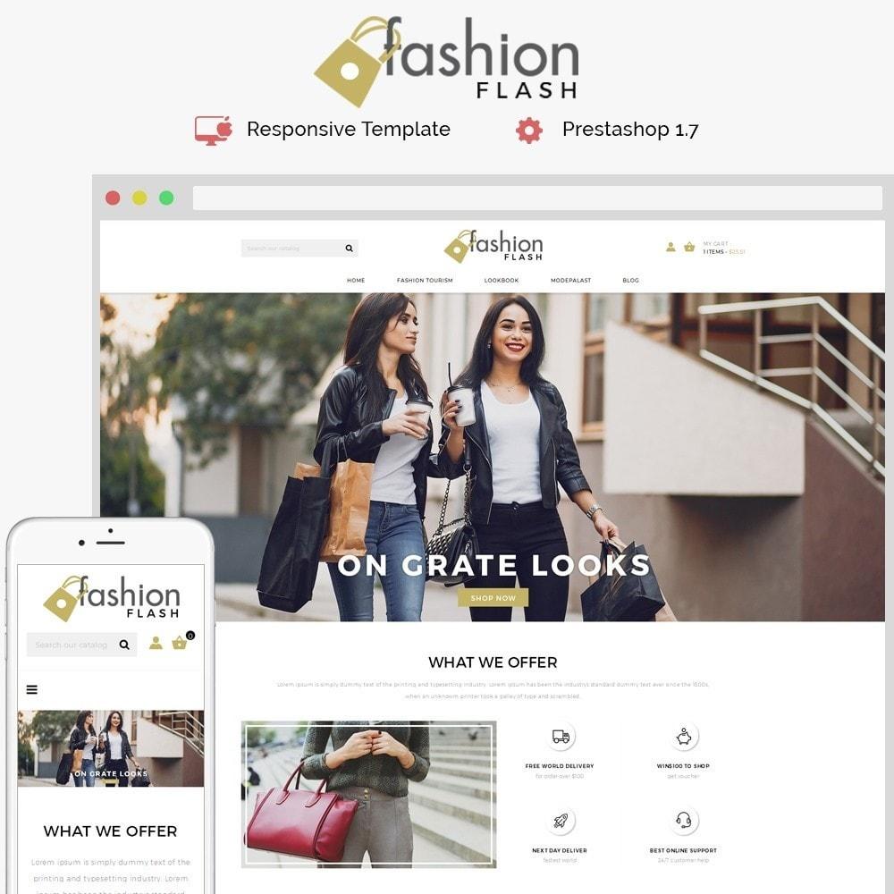 theme - Moda & Obuwie - Fashionflash Demo Store - 1
