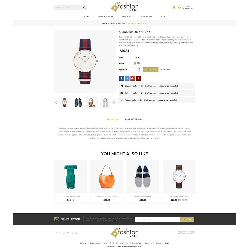 theme - Moda y Calzado - Fashionflash Demo Store - 5