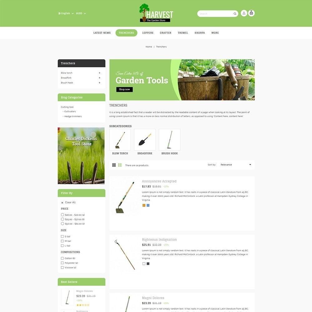 theme - Hogar y Jardín - Harvest Gardening Store - 5