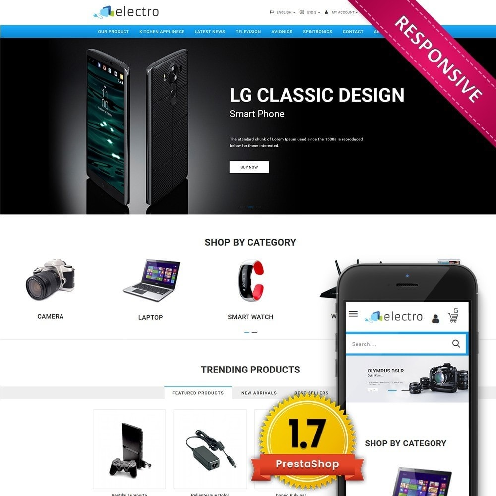 theme - Elettronica & High Tech - Electro - Electronics Store - 1