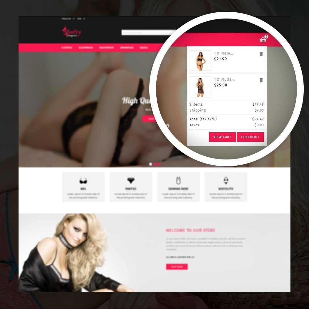 theme - Lenceria y Adultos - Softy -  Lingerie store - 6