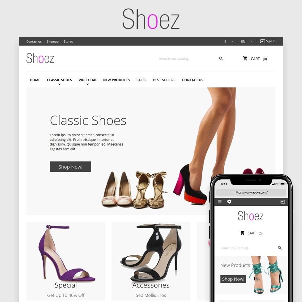 theme - Moda & Calçados - Shoez - 1