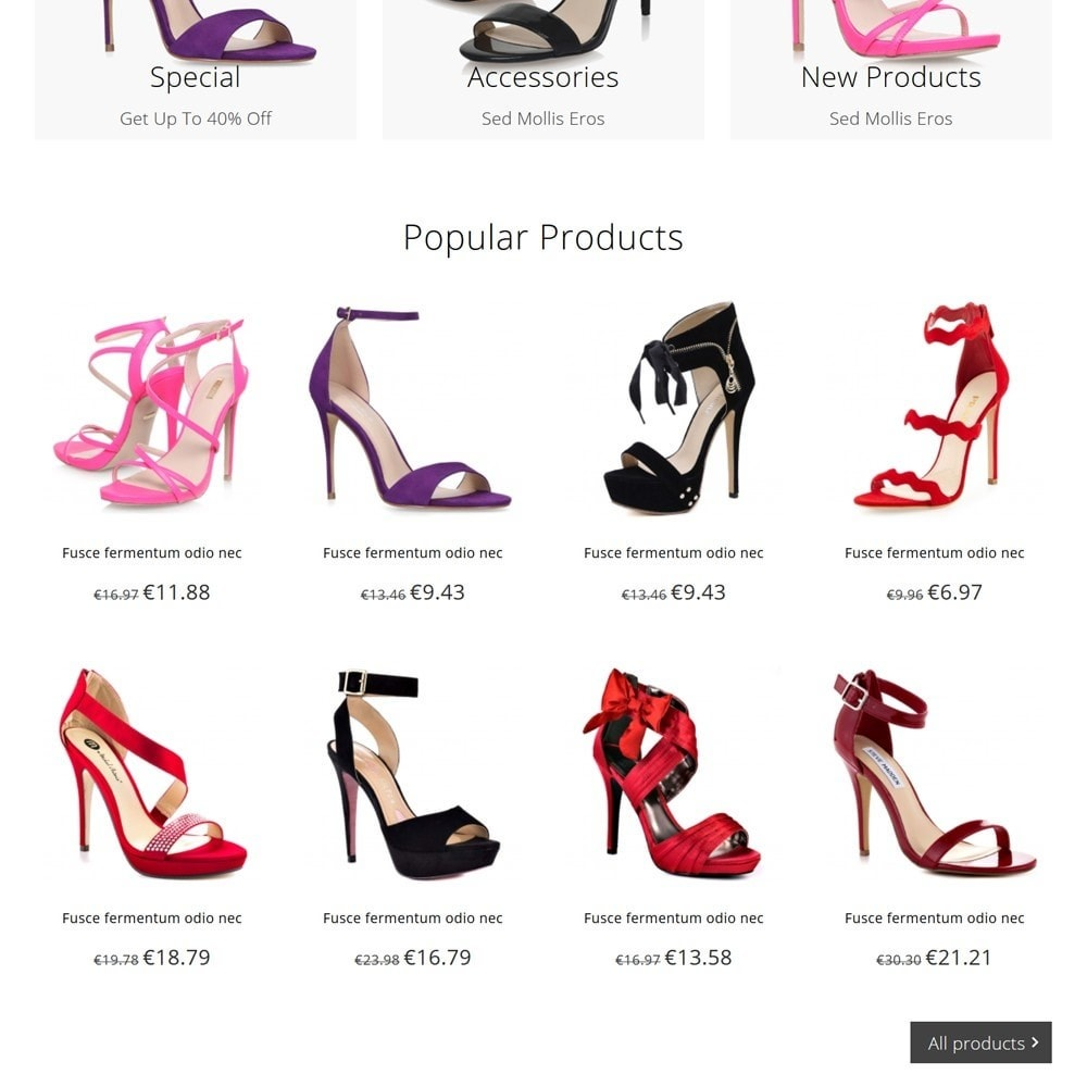 theme - Moda & Calçados - Shoez - 3