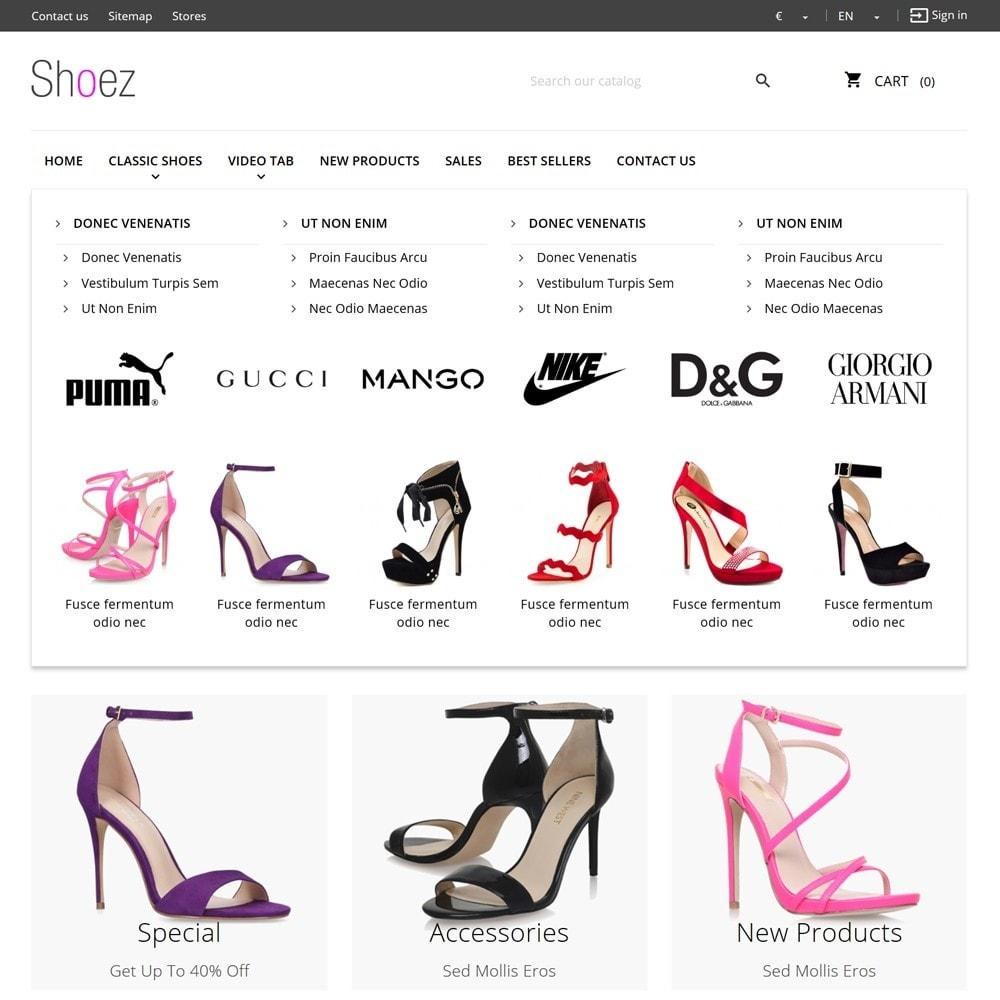 theme - Moda & Calçados - Shoez - 6