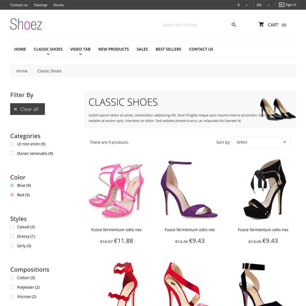 theme - Moda y Calzado - Shoez - 7