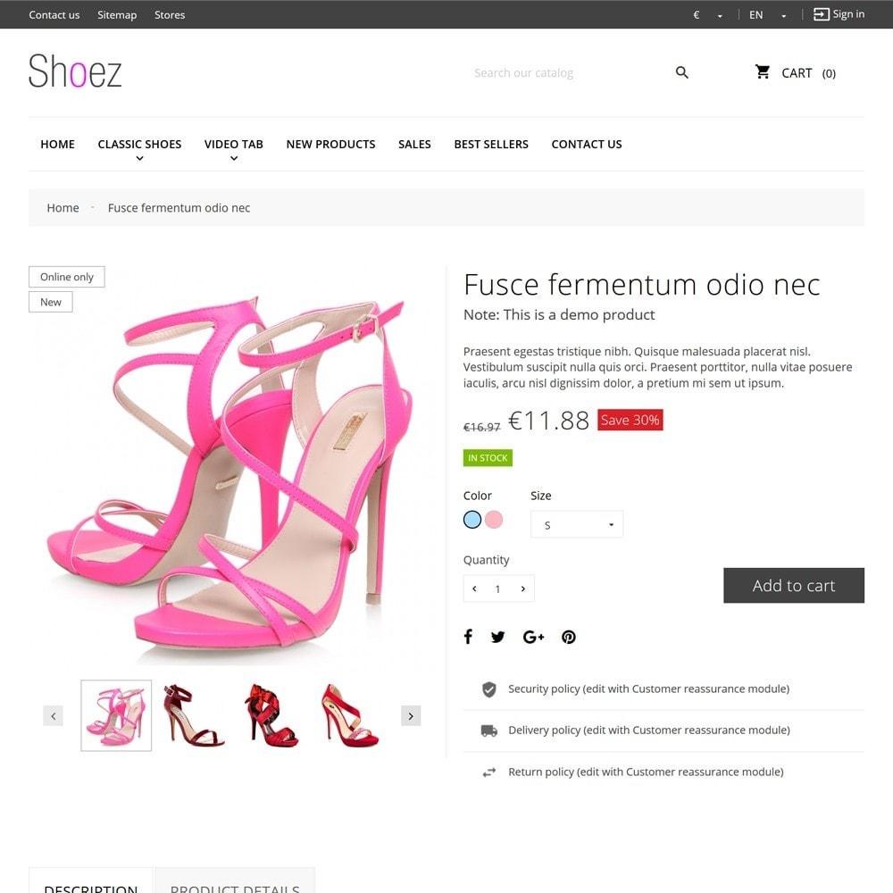 theme - Moda & Calçados - Shoez - 8