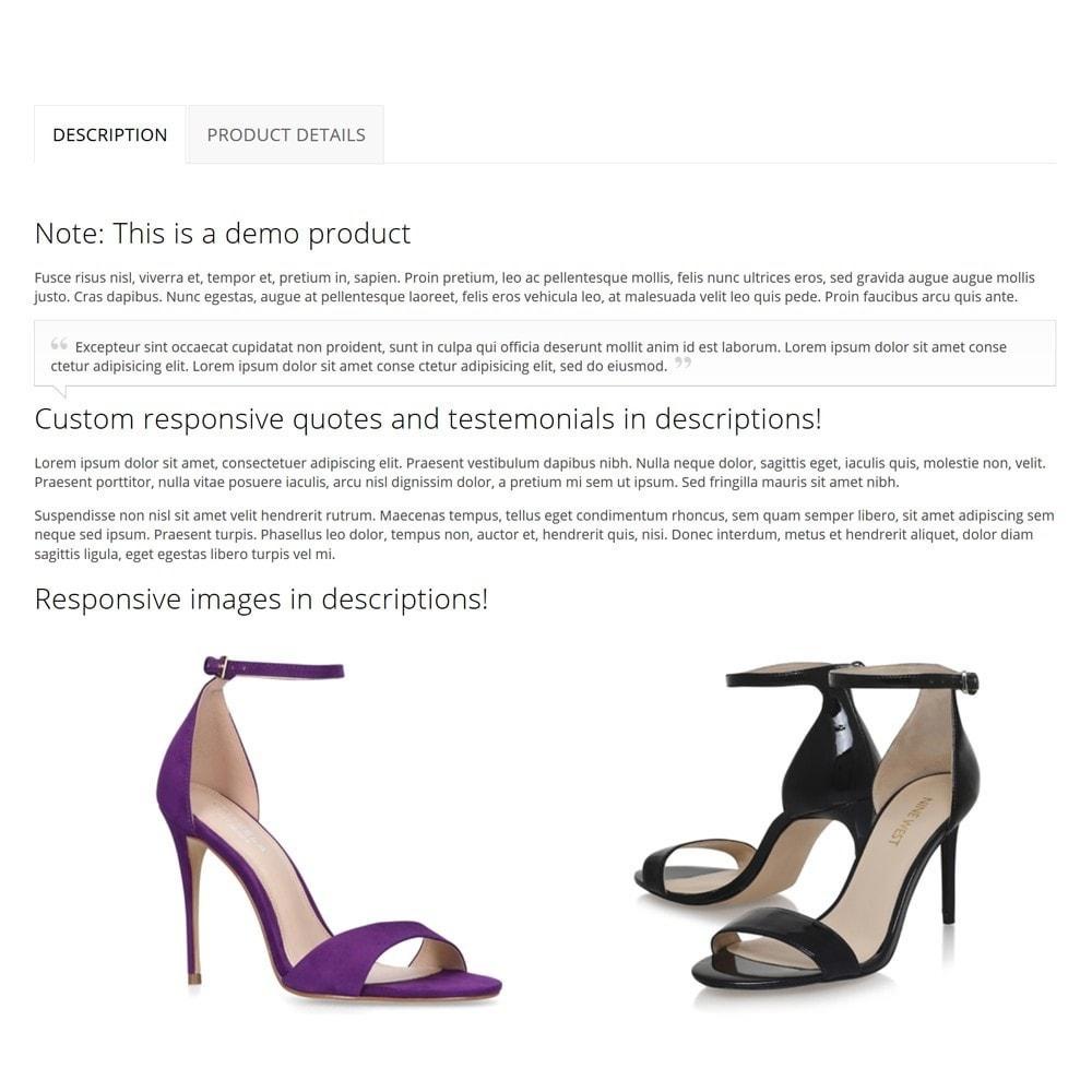 theme - Moda & Calçados - Shoez - 9
