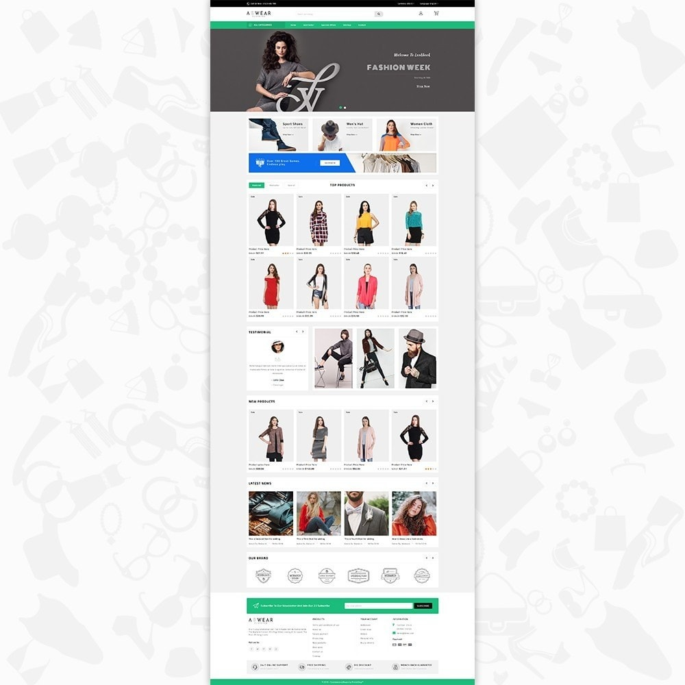 theme - Mode & Chaussures - Awear Clothing- The Fashion Store - 2