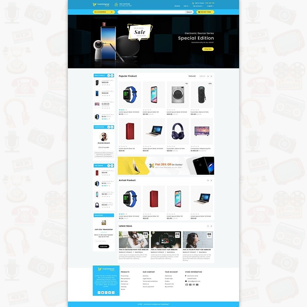 theme - Elettronica & High Tech - Ecommerce-Today- Electronics Store - 2