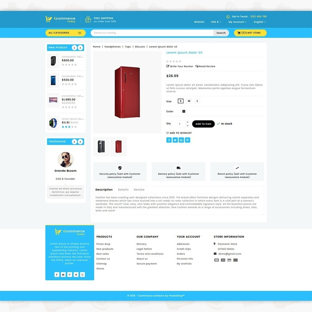 theme - Elettronica & High Tech - Ecommerce-Today- Electronics Store - 5