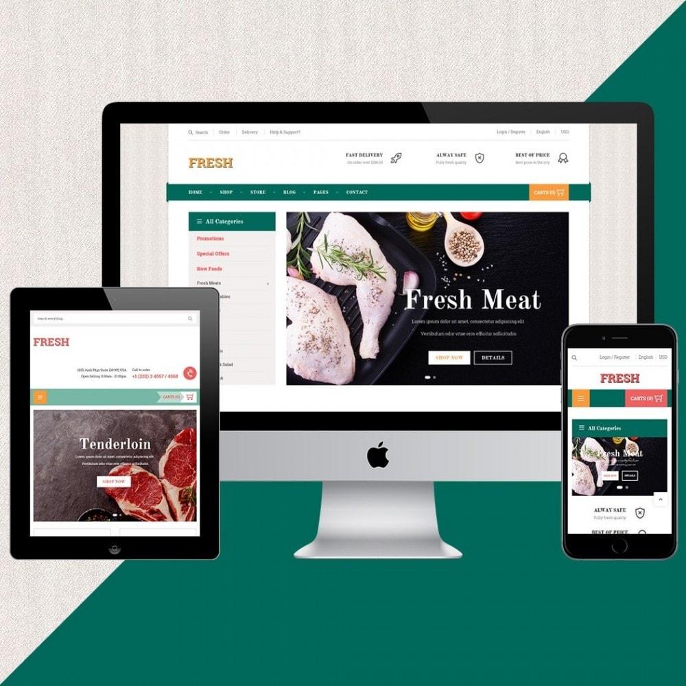 theme - Продовольствие и рестораны - Fresh Store II - 2