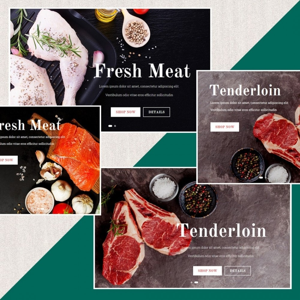 theme - Food & Restaurant - Fresh Store II - 3