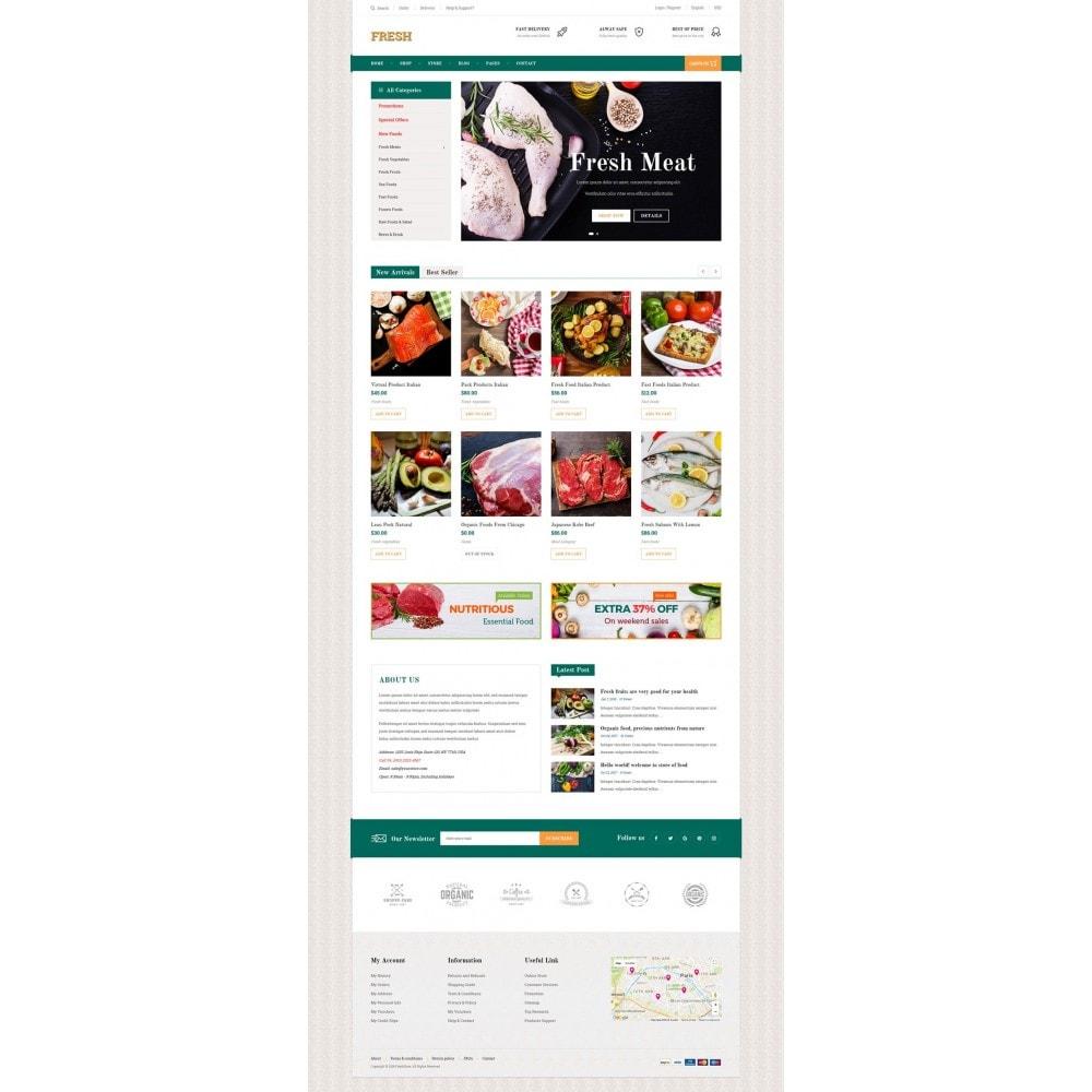 theme - Продовольствие и рестораны - Fresh Store II - 6