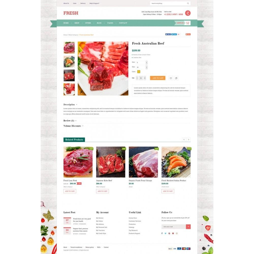 theme - Продовольствие и рестораны - Fresh Store II - 9
