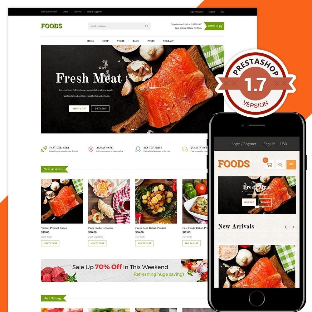 theme - Gastronomía y Restauración - Food Shop II - 1