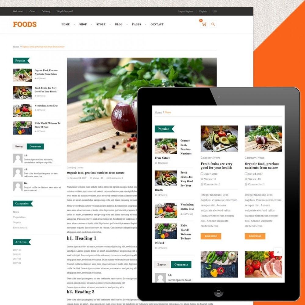 theme - Gastronomía y Restauración - Food Shop II - 5