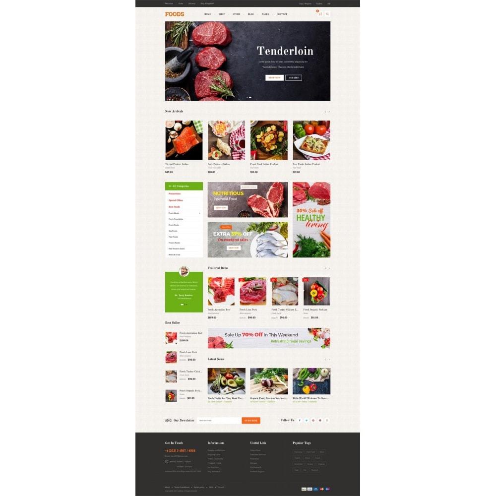 theme - Gastronomía y Restauración - Food Shop II - 7