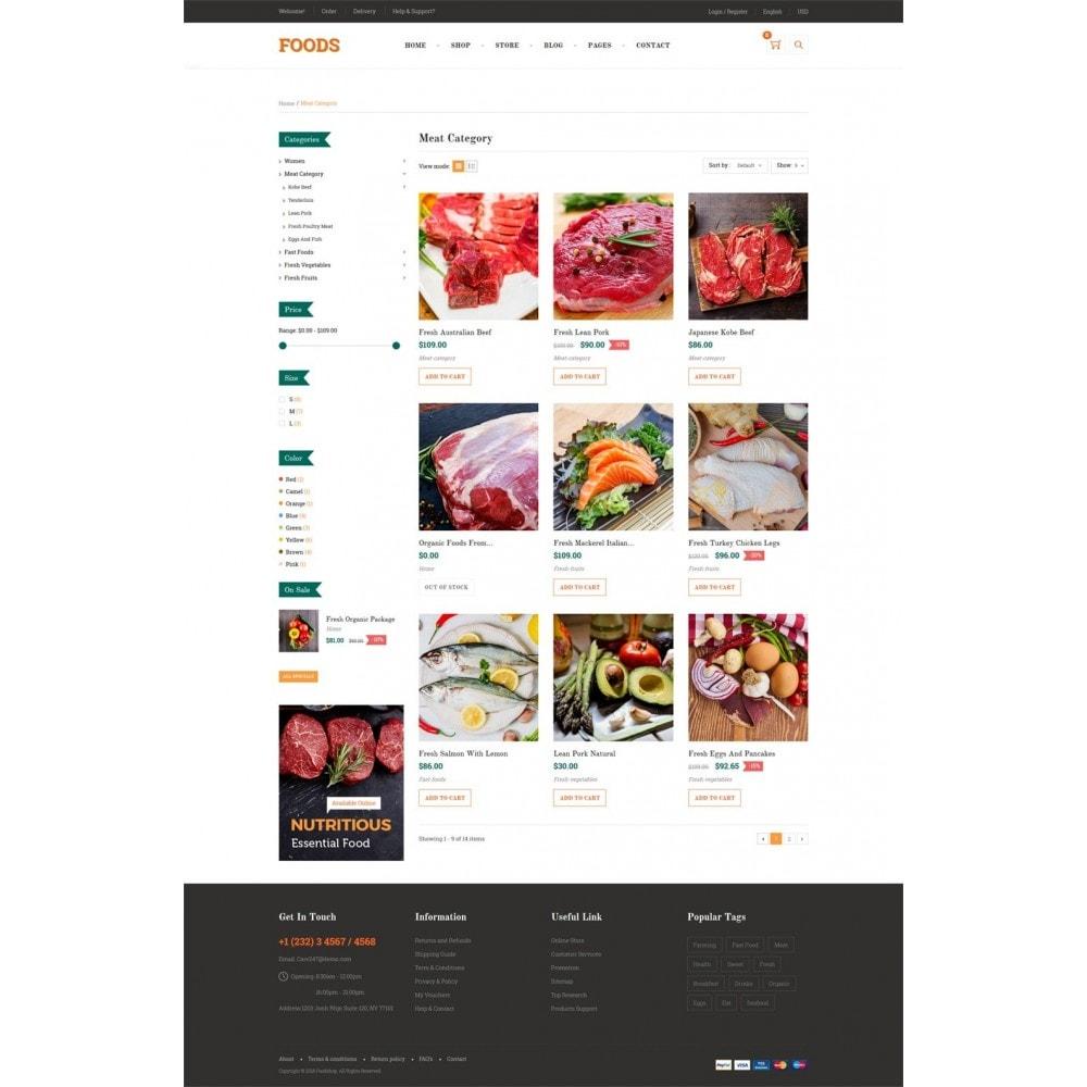 theme - Gastronomía y Restauración - Food Shop II - 8