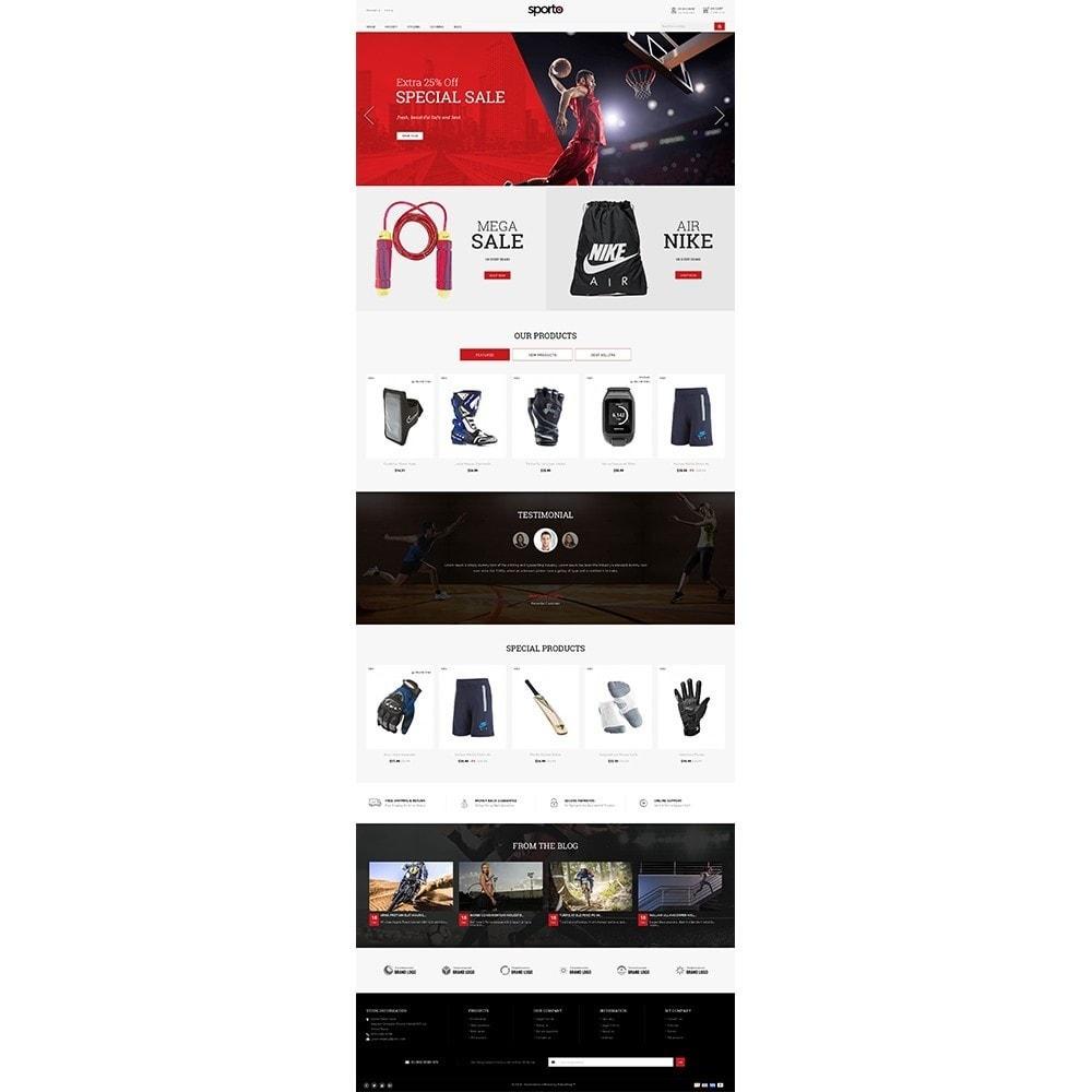 theme - Sports, Activities & Travel - Sporto Demo Store - 2