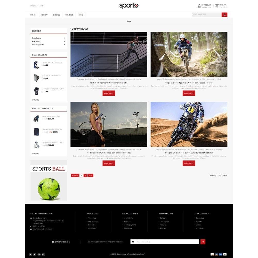 theme - Sport, Rozrywka & Podróże - Sporto Demo Store - 8